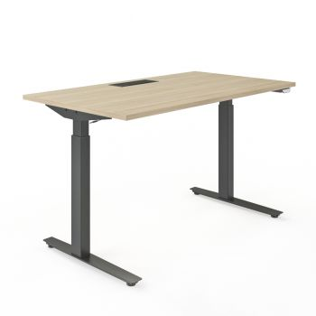 Active sit-stand desk