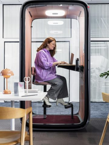 Framery One - The world's first connected soundproof pod