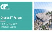 Proud to be a furniture sponsor at such an event - Cyprus IT Forum 2019